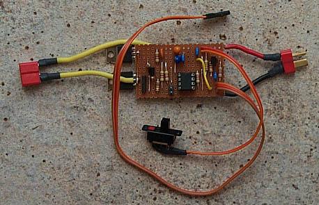 12F675 based Brushed Motor ESC